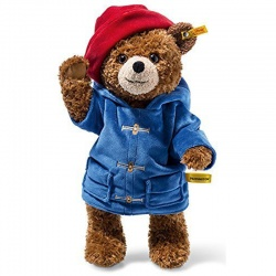 Steiff Jointed Paddington Bear Plush Teddy